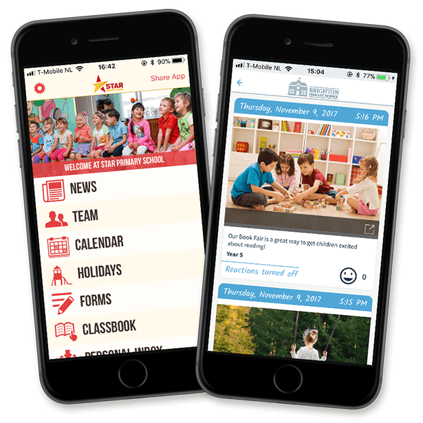 ParentCom request free trial app for your school