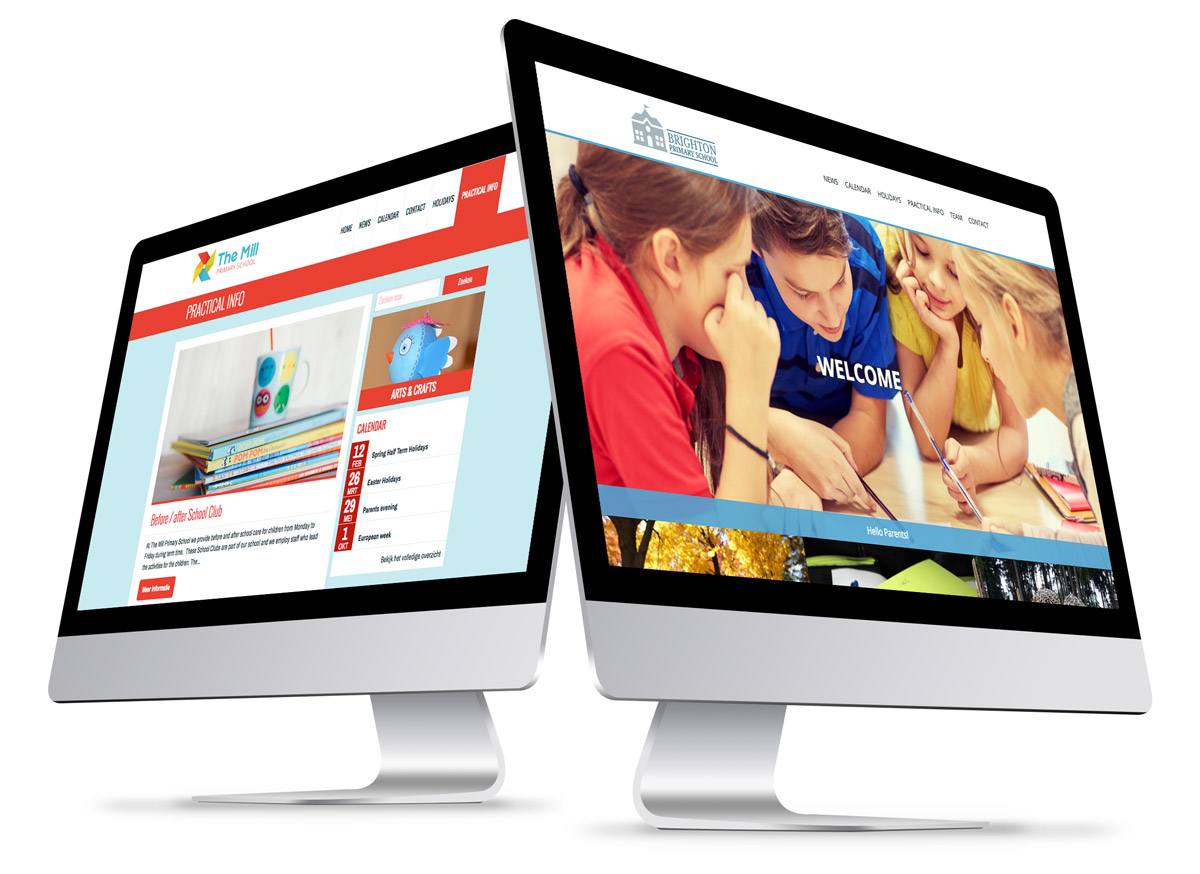 School websites from ParentCom