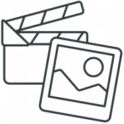 photo video galleries icon